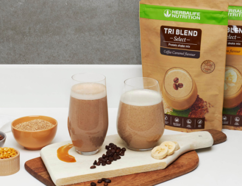 Tri Blend Select: a vegan shake providing complete protein